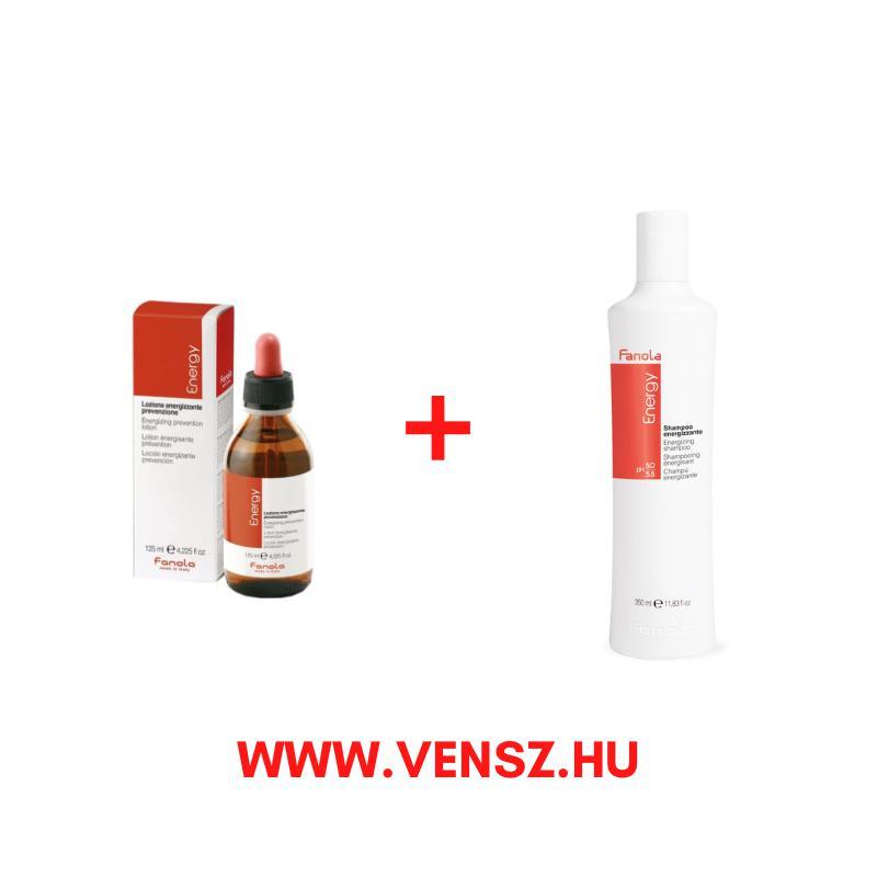 #5 Fanola Energy hajhullás elleni tonik 125ml 1db + ajándék Energy hajhullás elleni sampon 350ml