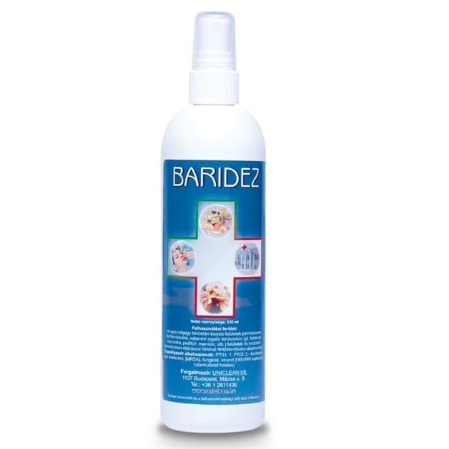 Baridez eszköz fertőtlenítő 250ml