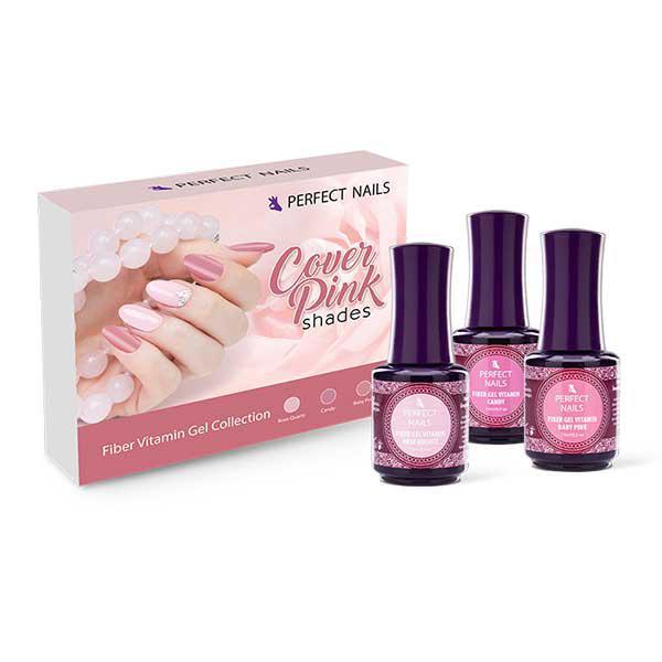 Cover Pink Shades - Fiber Gel Vitamin - Pink kollekció