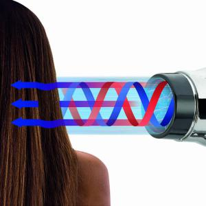 Gamma Piú E.T.C. Light hajszárító 2100W - fekete