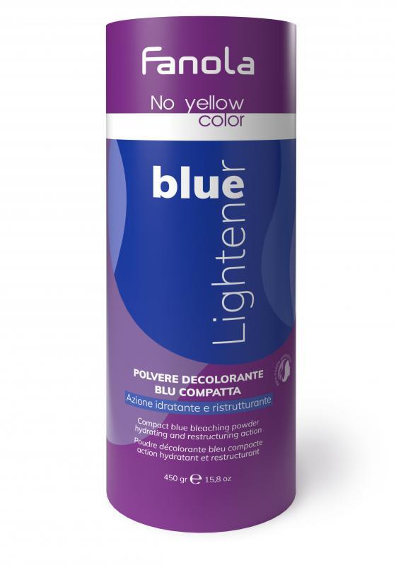 Fanola No Yellow szőkítőpor Blue - Kék 450g