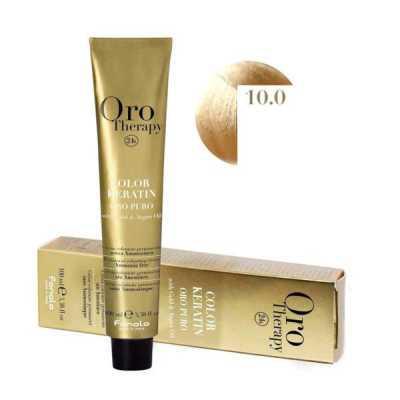 Fanola Oro Therapy Ammóniamentes Hajfesték 100ml 10.0
