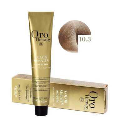 Fanola Oro Therapy Ammóniamentes Hajfesték 100ml 10.3
