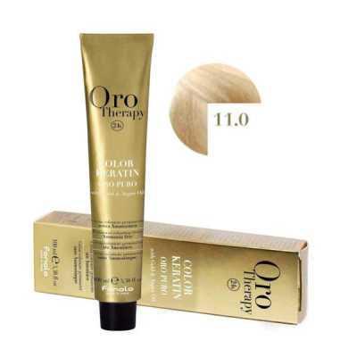 Fanola Oro Therapy Ammóniamentes Hajfesték 100ml 11.0
