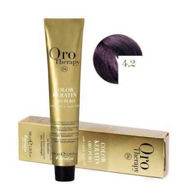 Fanola Oro Therapy Ammóniamentes Hajfesték 100ml 4.2