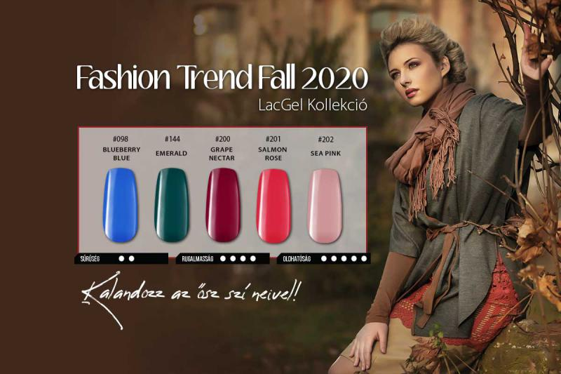 Fashion Trend Fall 2020 LacGel Kollekció