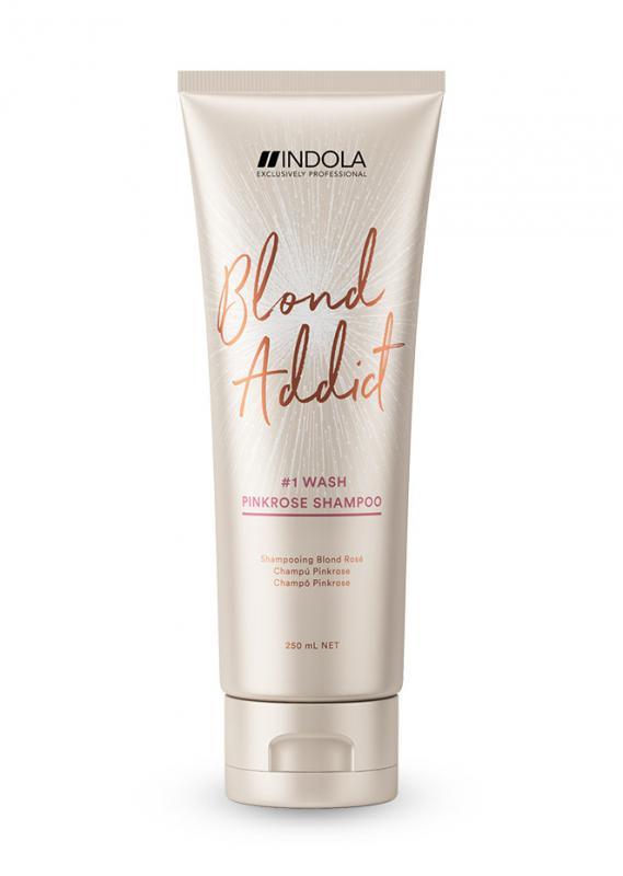 Indola Blond Addict Pink sampon 250ml