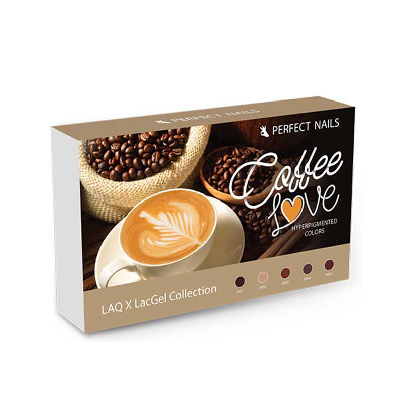 LacGel LAQ X - Coffee Love Gél lakk szett