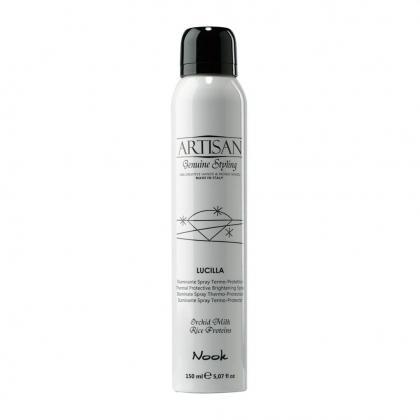 Nook Artisan Lucilla ragyogást adó hővédő spray 150ml