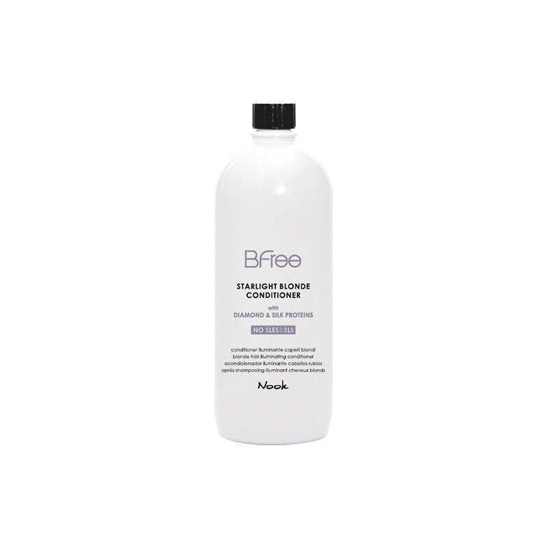 Nook Bfree Starlight Blonde fényesítő kondicionáló 1000ml