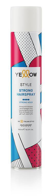 Yellow Style Erős hajlakk 500 ml