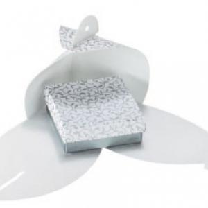 Fix Box fehér-szürke dekor Kicsi