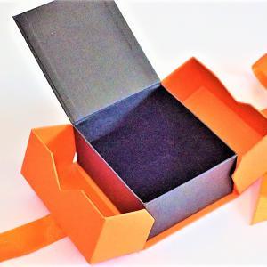 Narancssárga univerzális díszdoboz