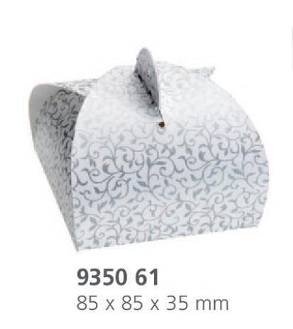 Fix Box fehér-szürke dekor