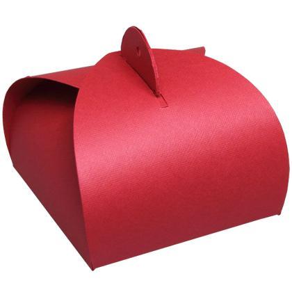 Fix Box gyűrűs csomagolás, piros