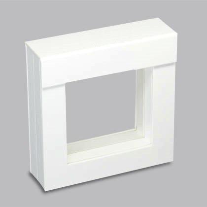 Frame díszdoboz 7x7 cm-es, fehér