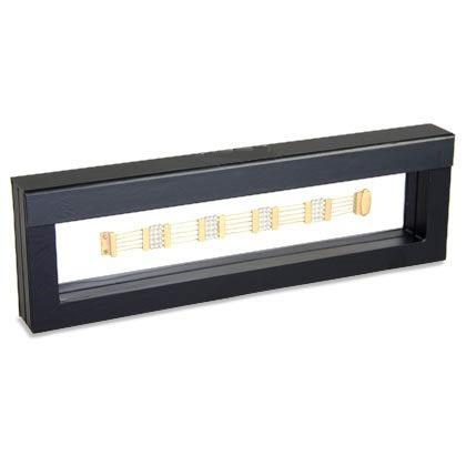 Frame hosszú karláncos díszdoboz 26x6 cm-es