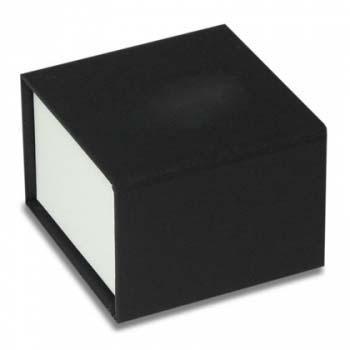 Fun gyűrűs díszdoboz fekete-fehér