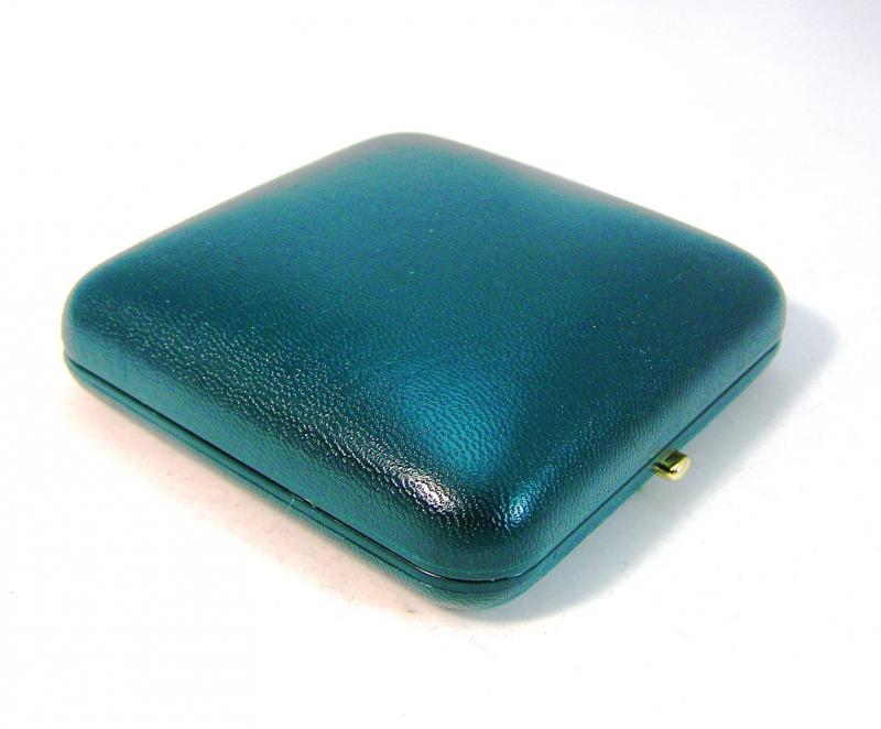 Gemini éremdoboz univerzális, bőrhatású műanyag, zöld