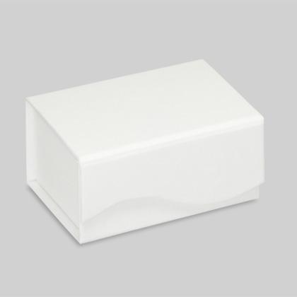 Karikagyűrűs díszdoboz fehér színben
