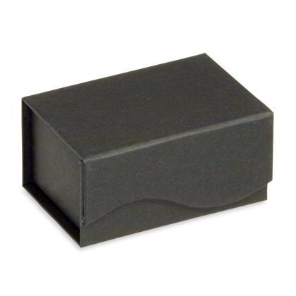 Karikagyűrűs díszdoboz, fekete