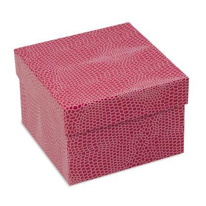 Lezard Óra tartó díszdoboz, Pink színben