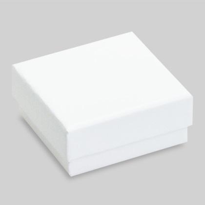 Plain fehér fülbevalós díszdoboz