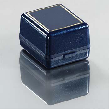 Shine kék gyűrűs díszdoboz