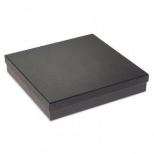 Collier karton doboz fekete színben