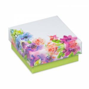 Flower levehető tetős virágos fülbevalós doboz