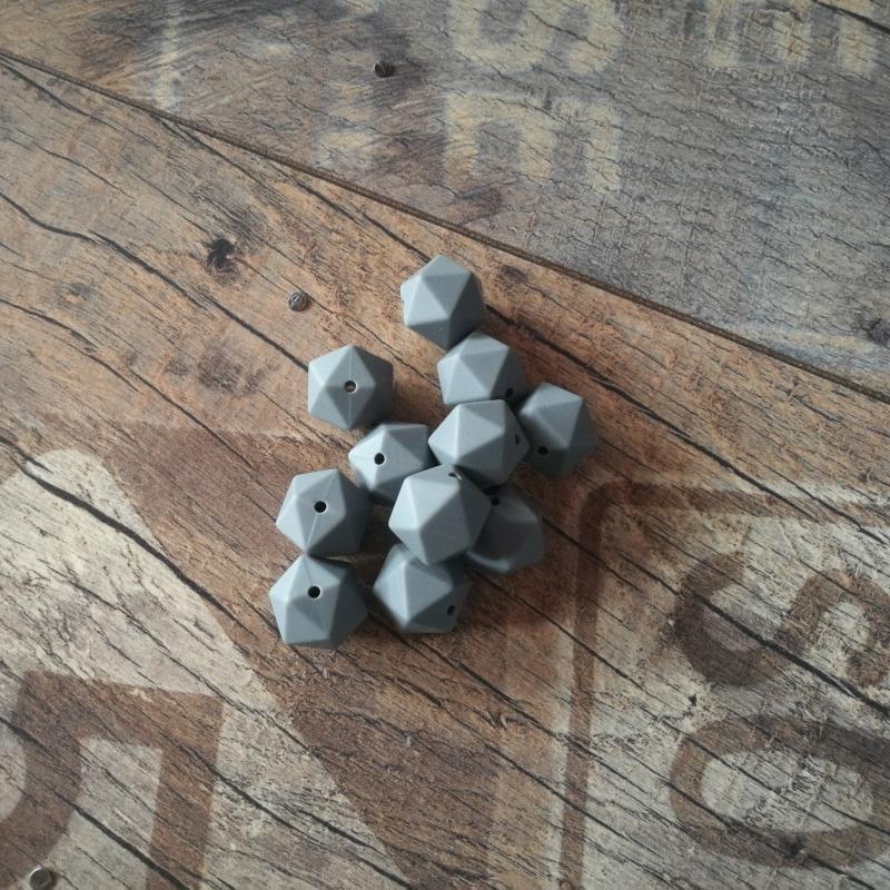 14mm-es icosahedron, szürke