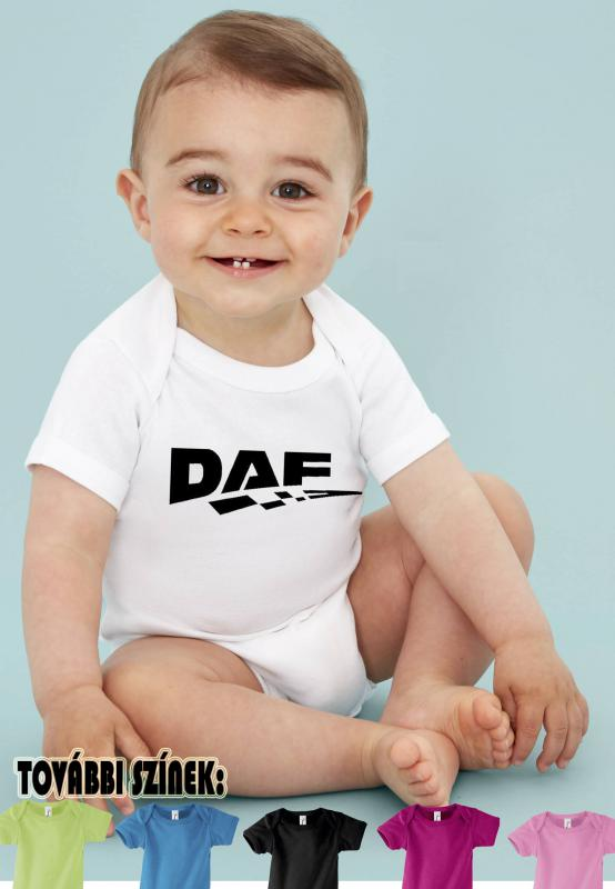 Baby body Daf logóval