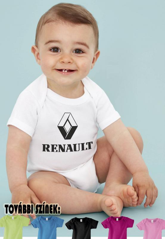 Baby body Renault logóval