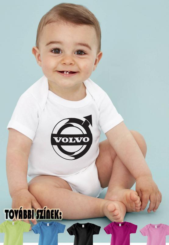 Baby body Volvo logóval