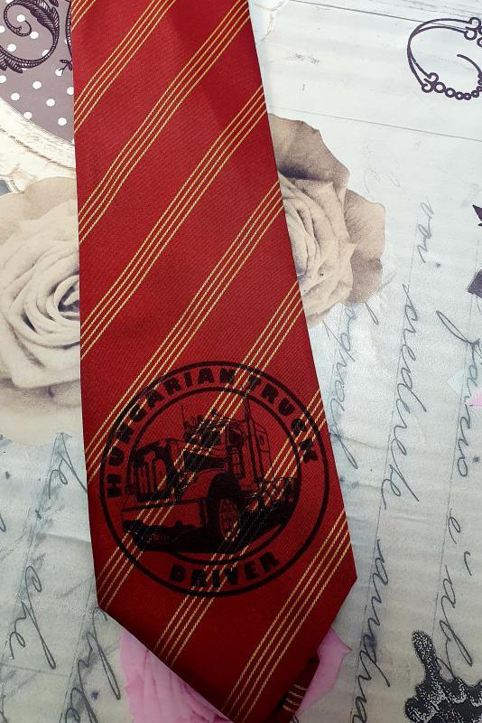 HTD logós nyakkendő