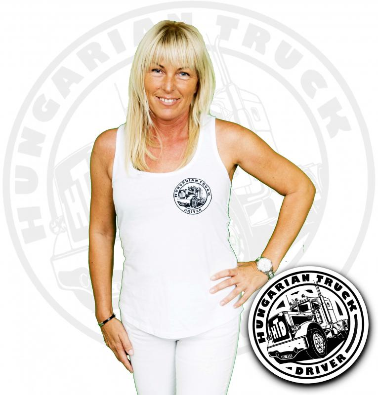 HTD trikó, női (fehér)