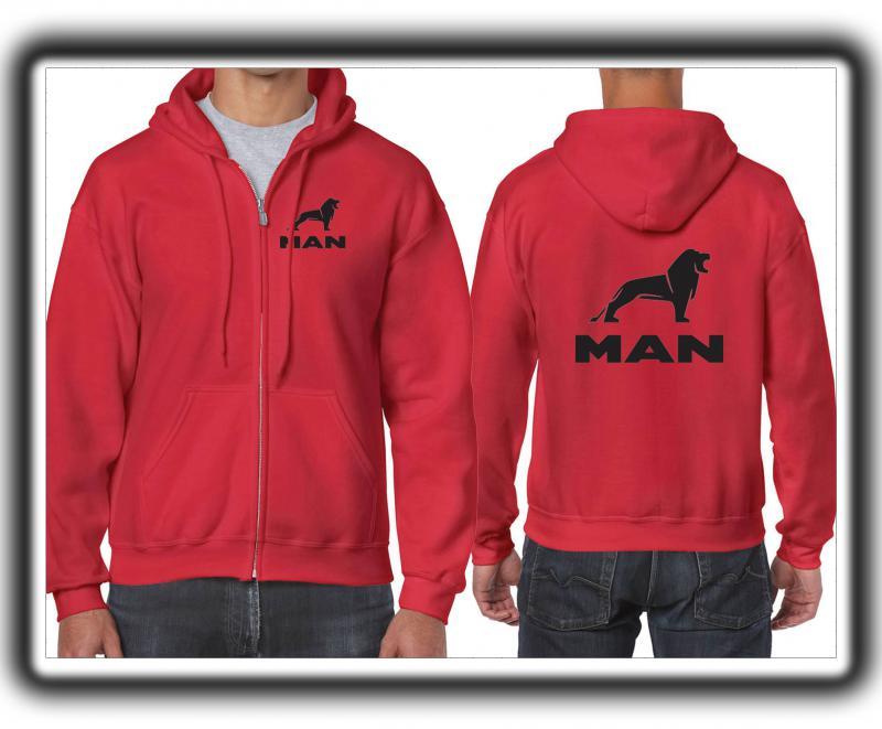 Man férfi pulóver (cipzáros)