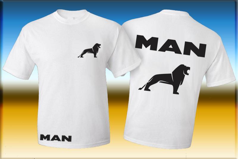 MAN póló két oldalon logóval 2.