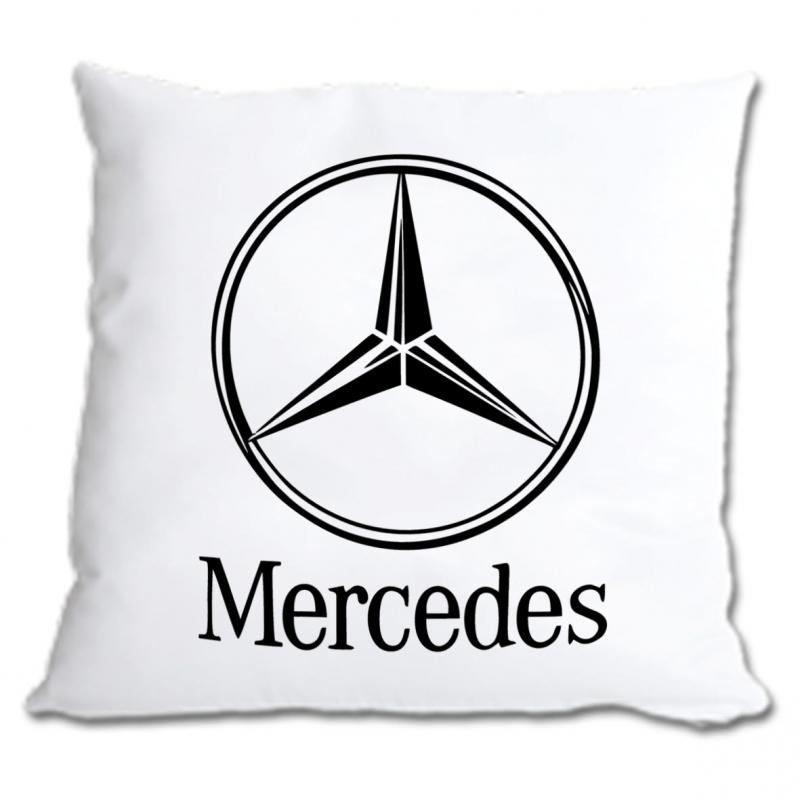 Mercedes díszpárna 40x40 cm