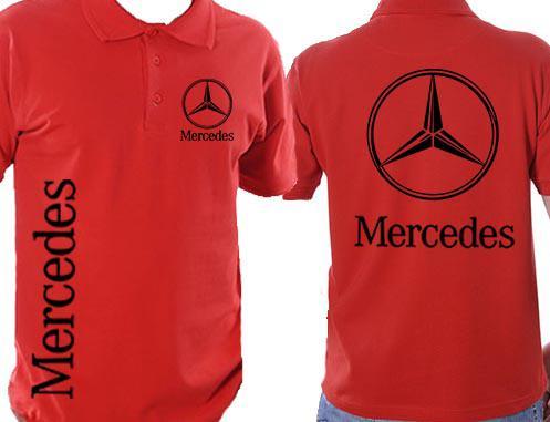 Mercedes galléros póló