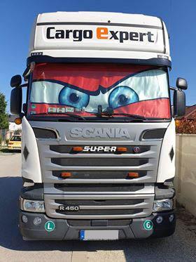 Óriás hőtükör kamionra , egyedi méretezés alapján