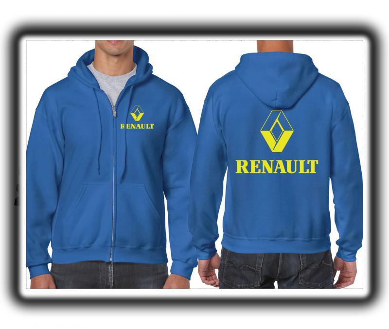 Renault férfi pulóver (cipzáros)