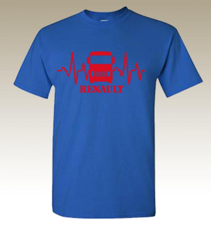 Renault póló EKG mintával