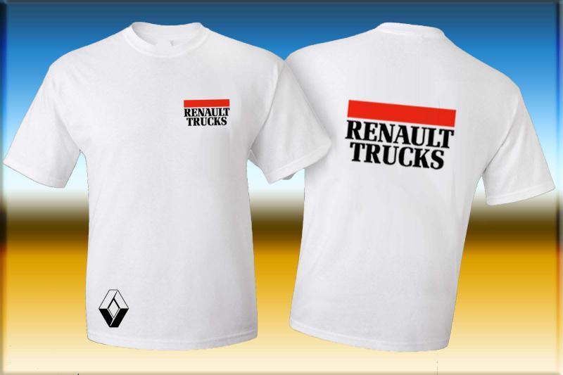 Renault póló két oldalon logóval
