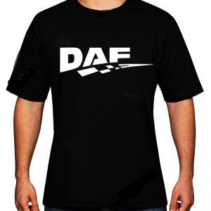 DAF póló egy oldalon logózva