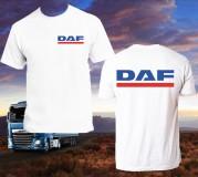 DAF póló, két oldalon logózva