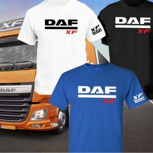 DAF XF póló elöl és karnál logózva