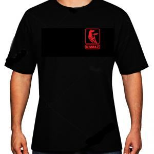 Kamaz logós póló (csak elöl logózva)
