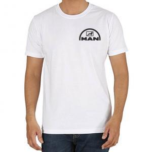 Man logós póló (csak elöl logózva)