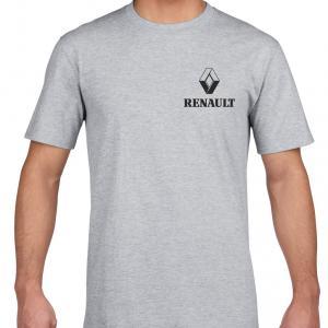 Renault logós póló (csak elöl logózva)